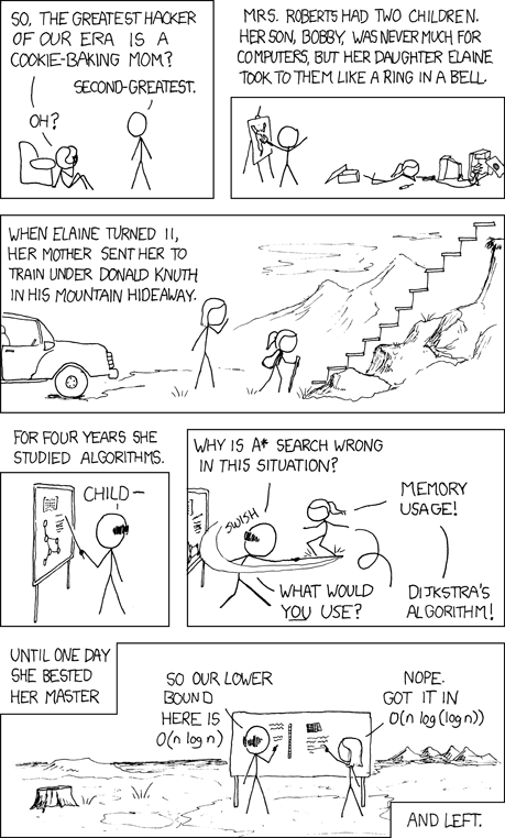 XKCD 1337 - Donald Knuth